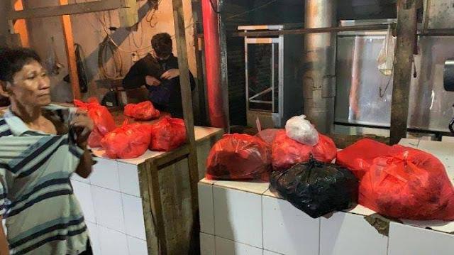 Daging Sapi Dicampur Daging Babi Ditemukan di Pasar Kota Tangerang