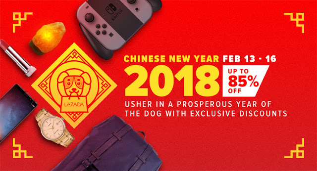 Lazada Philippines Chinese New Year Sale 2018