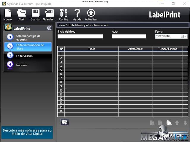 CyberLink LabelPrint 2.5 imagenes
