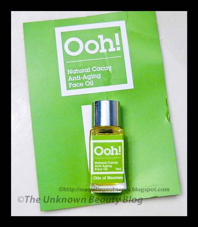 Oils of Heaven Cacay Oil - The New Facial Oil