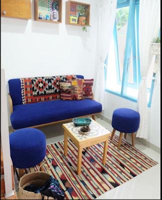 Desain Sofa Minimalis Unik Lucu Untuk Ruang Tamu Mungil