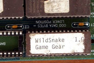 rom wild snake game gear