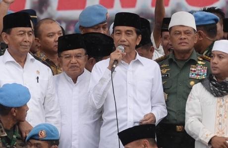 Masuk Golongan Alumni, Jokowi Diberi Karpet Merah di Reuni 212