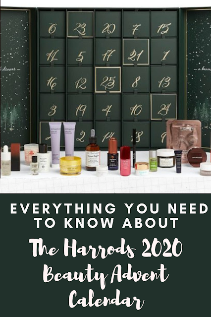 Harrods Beauty Advent Calendar 2020 - Full Content Reveal