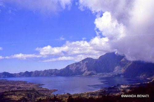 Il Monte ed il lago Batur, a Bali
