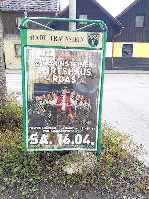 Wirtshaus Roas Werbung Stadt Traunstein
