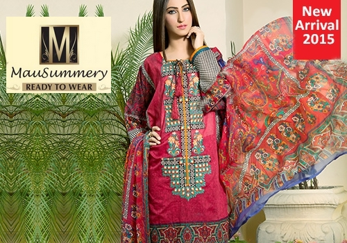 0bc24bde03 Mausummery Eid-Ul-Fitr Collection 2015-16 | Mausummery Ready To Wear Summer/Festive  2015 | She-Styles | Pakistani Designer Dresses - Fashion Weeks - Lawn ...