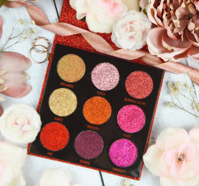 Lovelaughslipstick Blog Makeup Revolution Glitter Palette