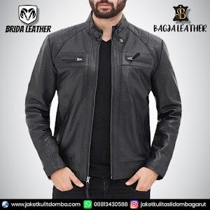Jual Jaket Kulit Asli Garut Pria Domba Original Brida Leather B83 | WA 08813430588