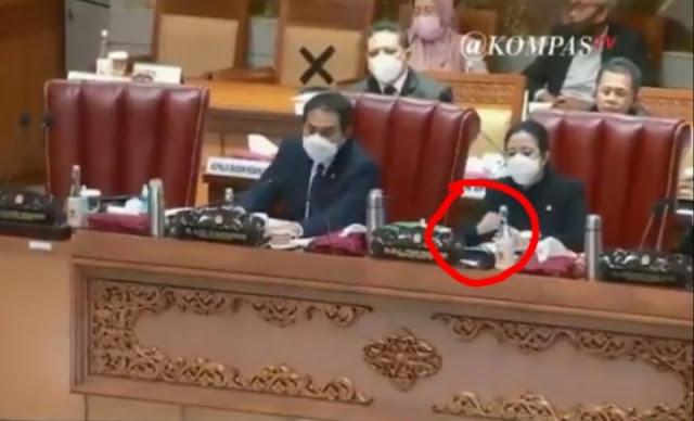 Viral Puan Matikan Mic Anggota DPR yang Protes Pengesahan RUU Ciptaker, Netizen Geram!
