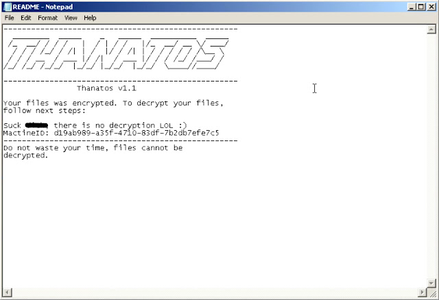 image6 Files Cannot Be Decrypted? Challenge Accepted. Talos Releases ThanatosDecryptor