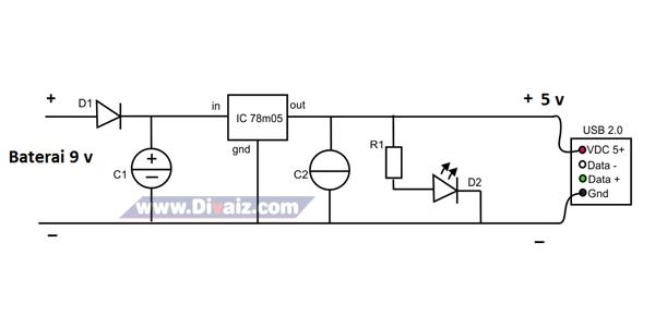 Skema powerbank sederhana 3 - www.divaizz.com