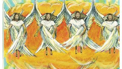 4 Angels Ezekiel