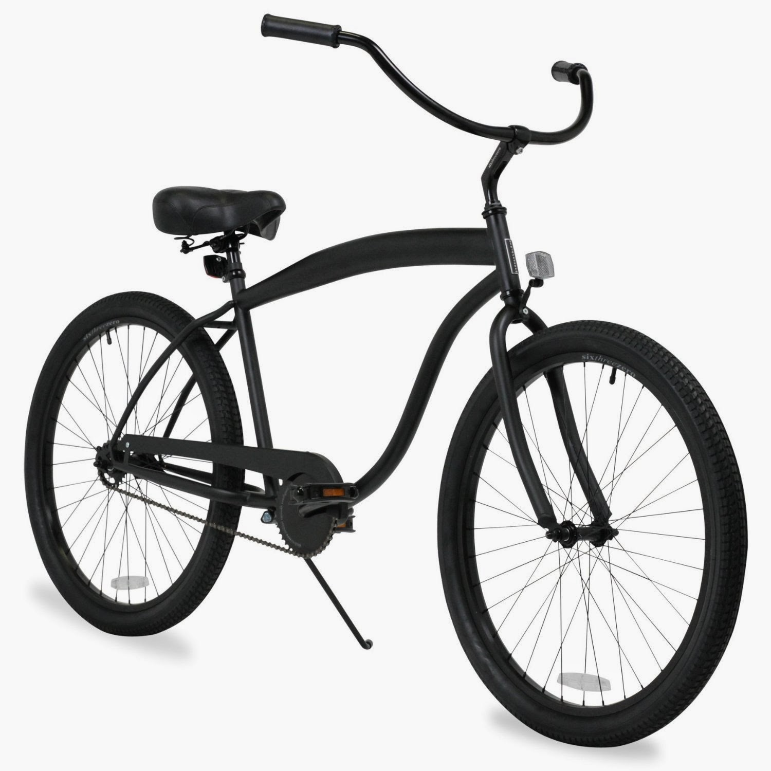 "Sixthreezero Men's in the Barrel Beach Cruiser Bicycle 26"", review, built for comfort and ease of use, choice of single speed or 3-speeds"