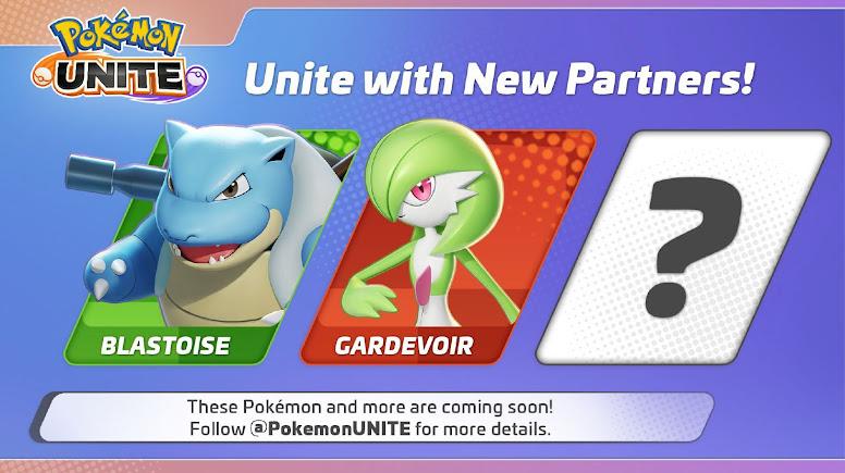 Pokémon Unite - Blastoise and Gardevoir