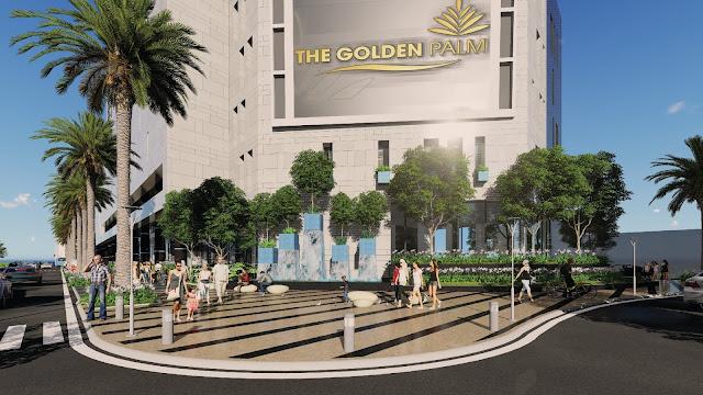Phối cảnh dự án The Golden Plam