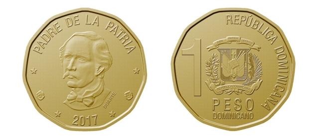 Desde hoy circula el nuevo peso en República Dominicana
