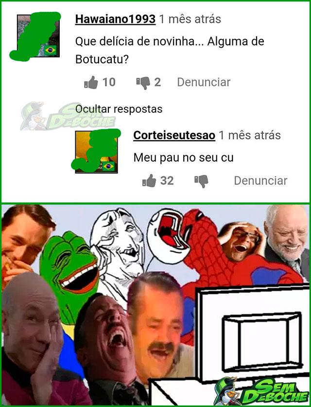 NEM OS COMENTÁRIOS DO XVIDEOS A 5ª SÉRIE DEIXA ESCAPAR