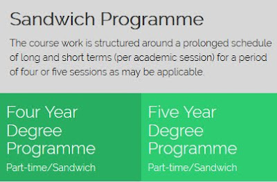 UNIABUJA Sandwich, part-time programme
