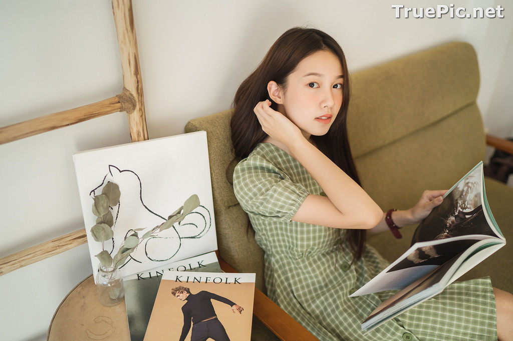 Image Thailand Cute Model - Pimpisa Kitiwinit - Milk Tea Girl - TruePic.net - Picture-7