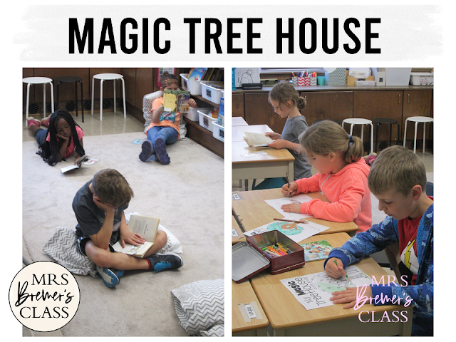 For ALL books in the Magic Tree House series! This pack of fun book study companion activities works with EVERY book in the Magic Tree House series by Mary Pope Osborne. Perfect for whole class guided reading, small groups, or individual study packs. Packed with lots of fun literacy ideas and standards based guided reading activities. Common Core aligned. Grades 1-2 #bookstudies #bookstudy #novelstudy #1stgrade #2ndgrade #literacy #guidedreading #magictreehouse