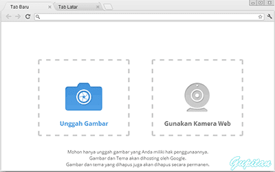Cara Membuat Theme Google Chrome