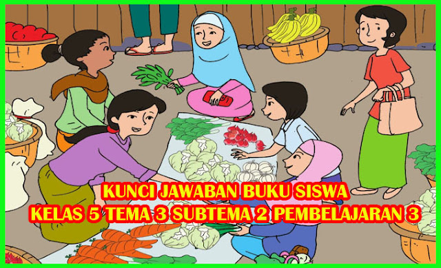 Buku pendidikan agama islam dan budi pekerti kelas 3, 4, 5,. Kunci Jawaban Buku Siswa Tema 3 Kelas 5 Halaman 58, 59, 60