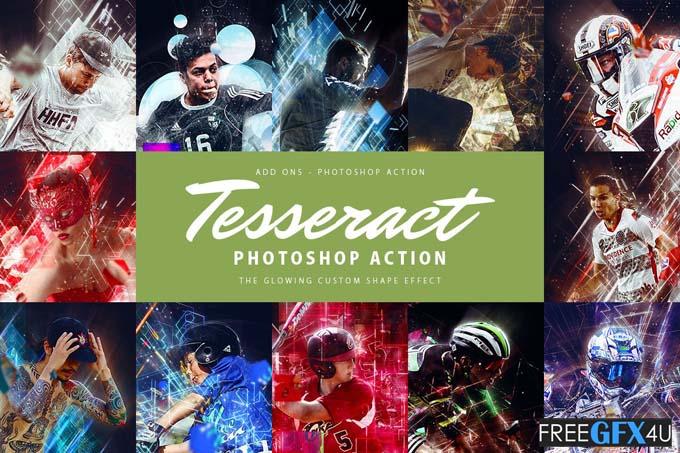 Tesseract Photoshop Action