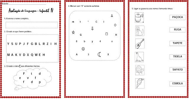Avaliação de Linguagem Infantil que tem como objetivo disponibilizar testes e provas de avaliação de linguagem infantil de modo a discutir a aplicabilidade para as crianças.