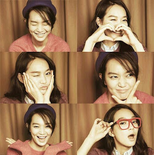 Cute Face Of Shin Min Ah (Pelakon Korea), Korean Artist, Actress, Pelakon, Cute, Comel,