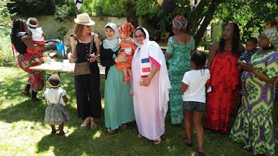 مشاركة صحراوية متميزة ضمن فعاليات اليوم العالمي للاجئين بباريس ( صور )