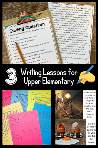 how to writing procedural instruction units of study