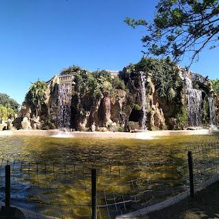 Cascada del parque Genovés