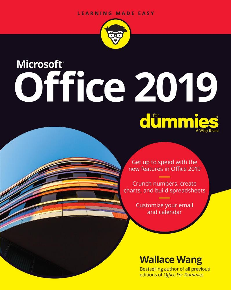 Office 2019 For Dummies – Wallace Wang