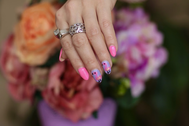 Beauty Nails - Róż, Pastel i Flamingi