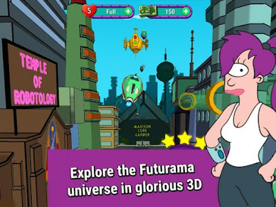 Download game Futurama: Game of Drones Apk v1.8.2 (Mod Money/Lives)