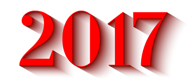 2017 Happy New Year Transparent Images