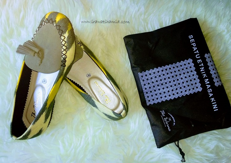 sepatu the warna kimberly yellow