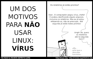 Um dos motivos para não usar Linux