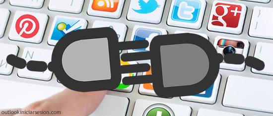 Outlook y las redes sociales
