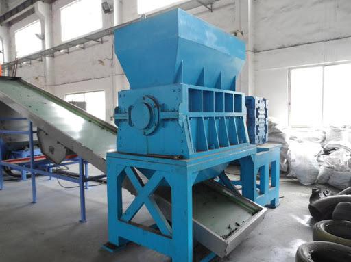 Máquina de trituración para papel