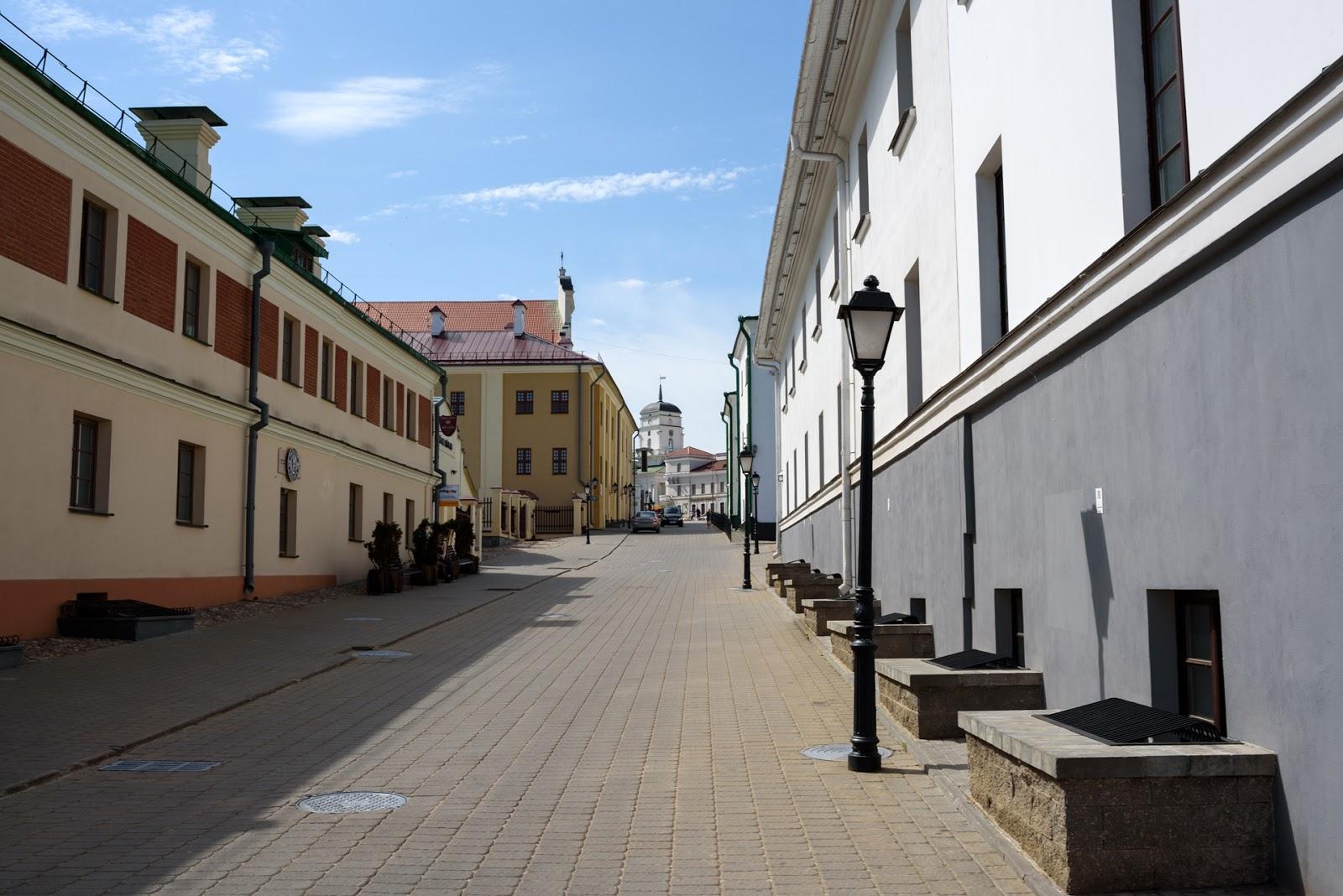 Улицы старого города. Минск