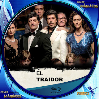 GALLETA EL TRAIDOR-IL TRADITORE 2019[COVER BLU-RAY]