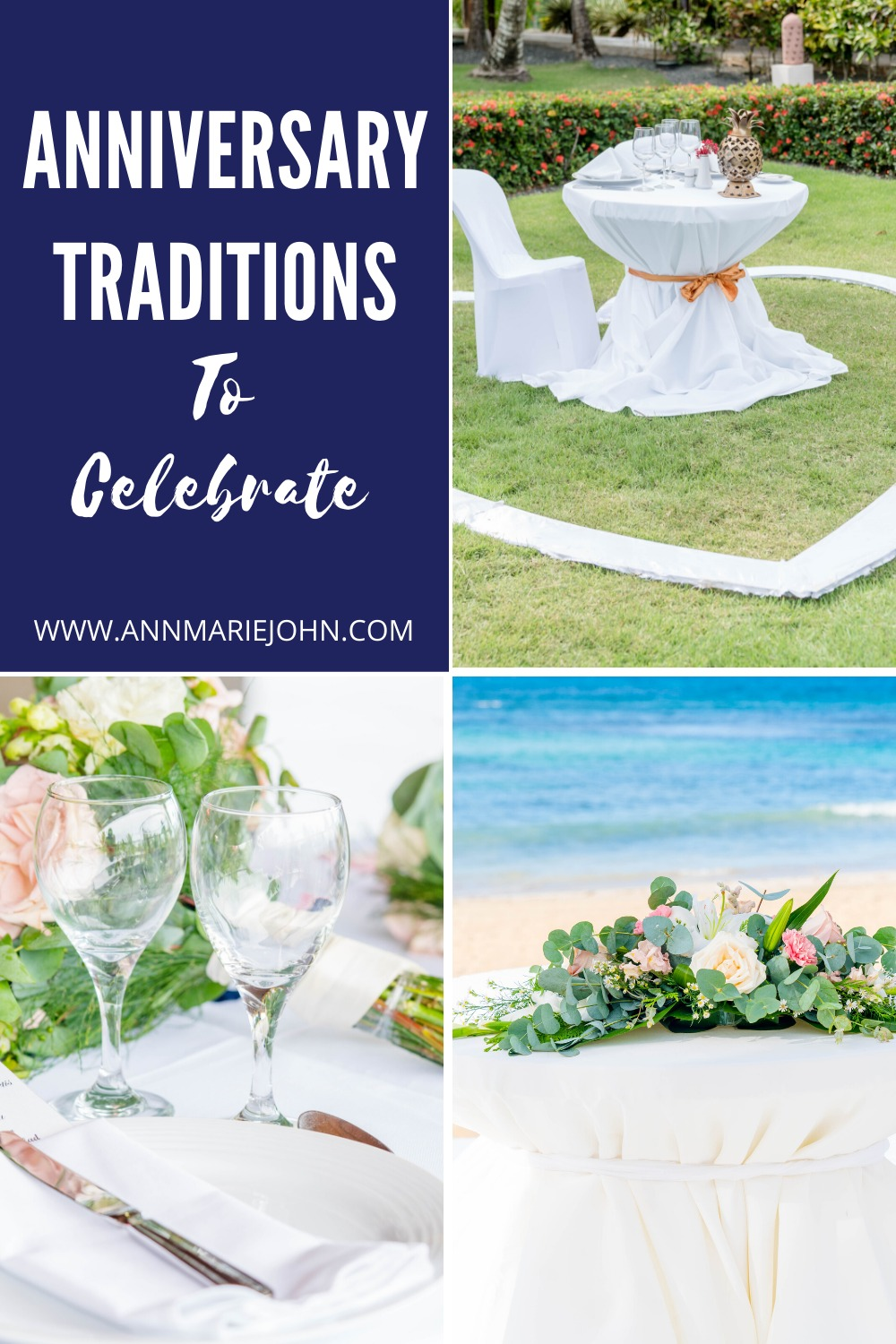 Anniversary Traditions Celebrations Pinterest Image