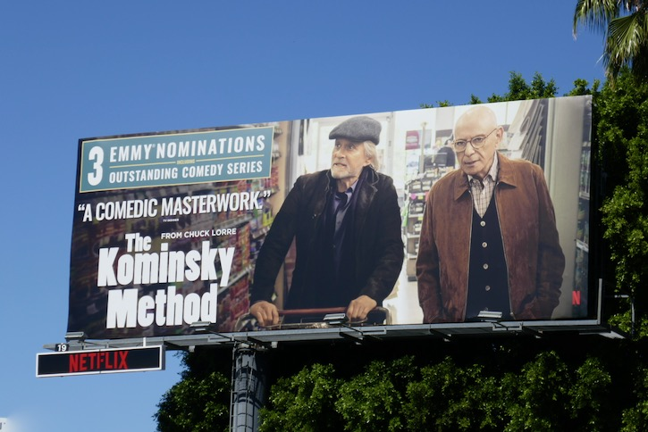 Kominsky Method 3 Emmy nominations billboard