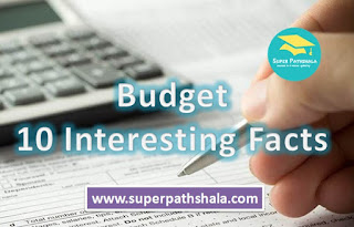 10 Interesting Facts About Budget in Hindi