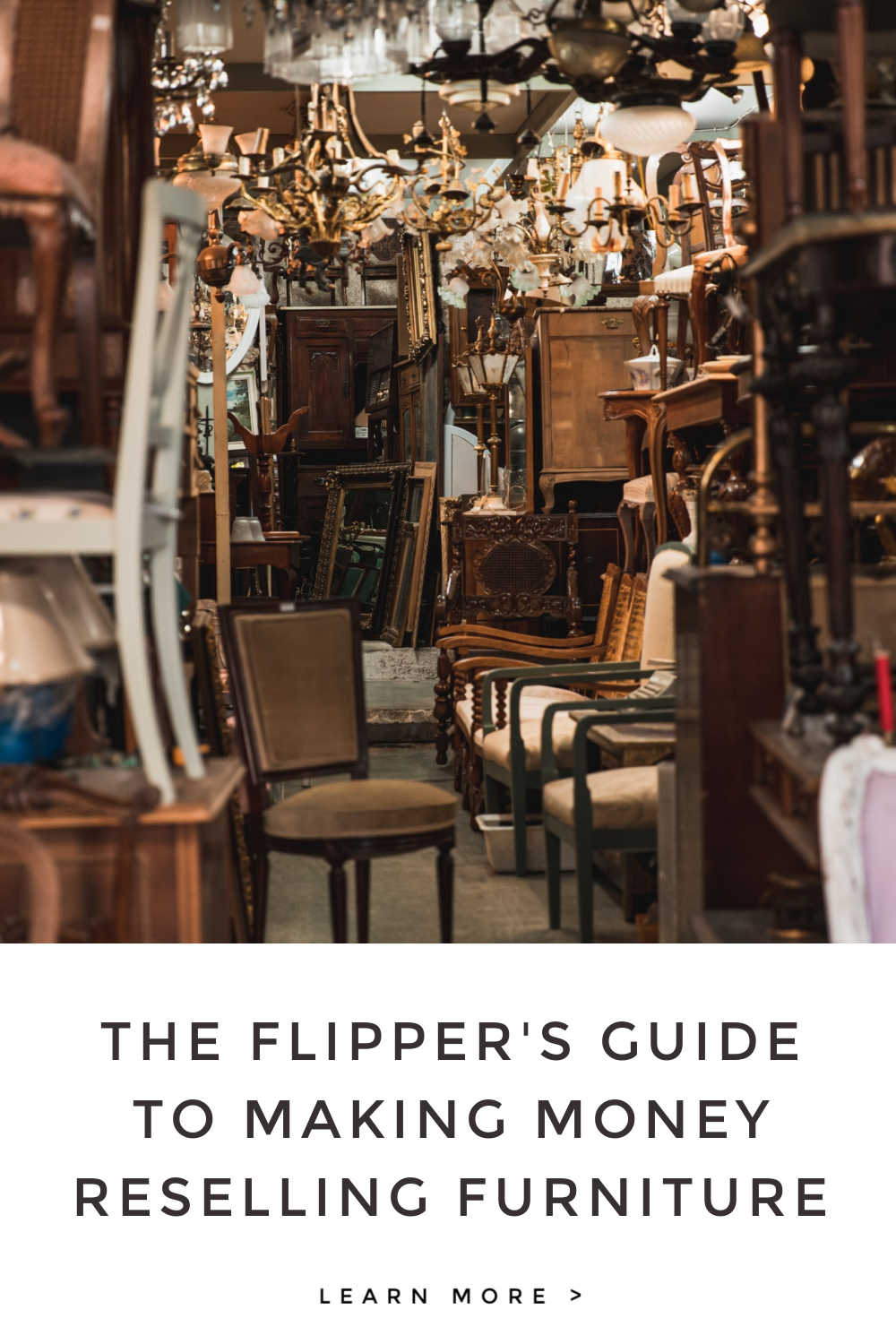 FLIPPERS GUIDE RESELLING FURNITURE