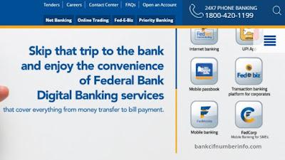 Check Federal Bank balance by Net Banking