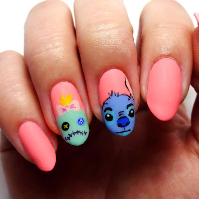 Stitch and Scrump Nails
