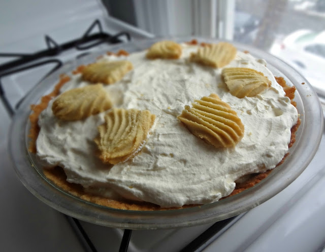 Vanilla & Honey Shortbread Pie